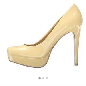 Chinese Laundry Light Yellow Heels
